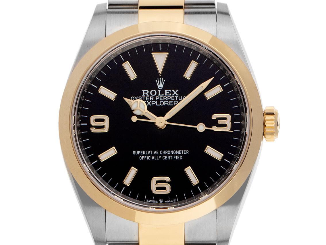 Rolex Explorer, Bj. 2021