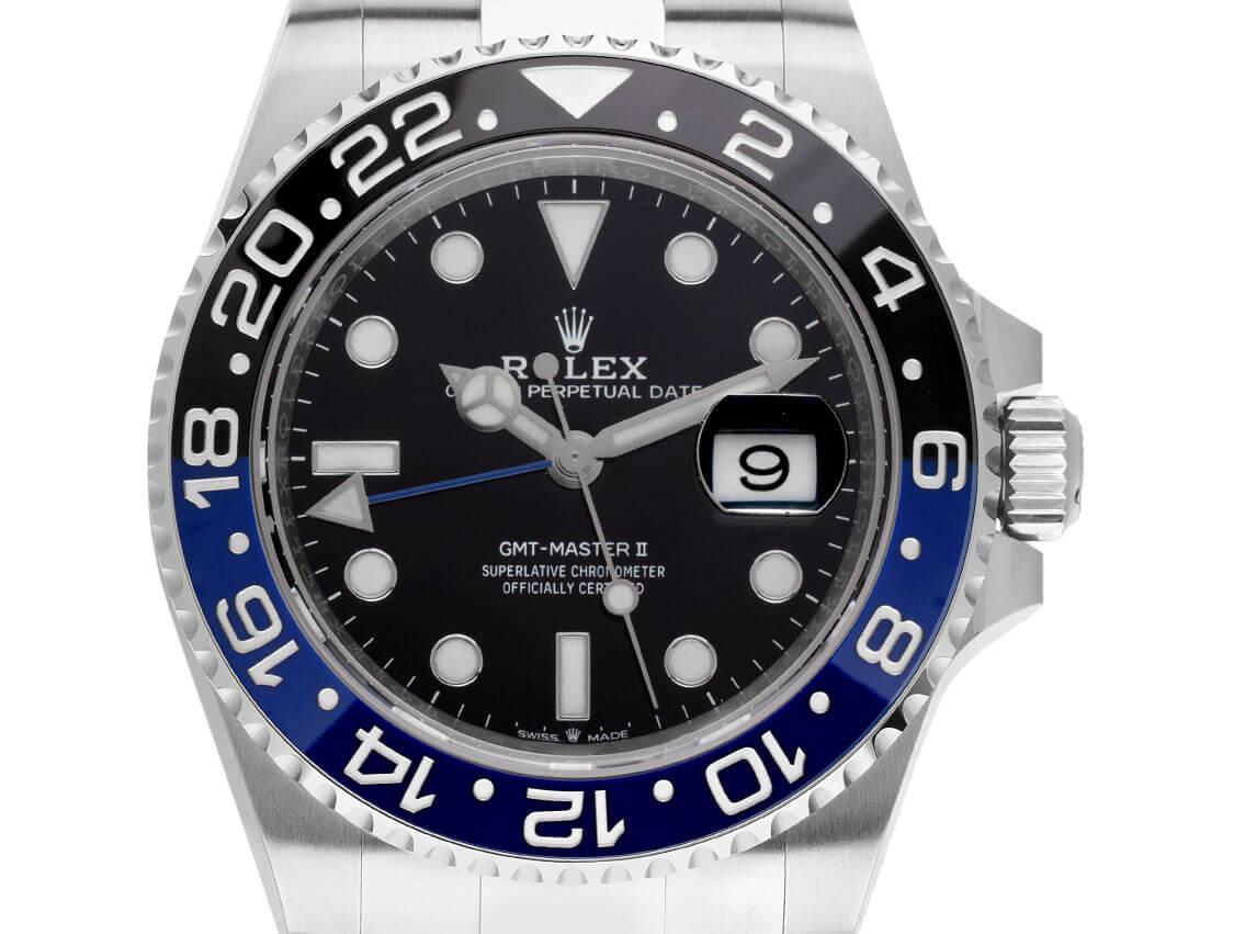 Rolex GMT-Master II Ref 126710BLNR, Bj. 2021