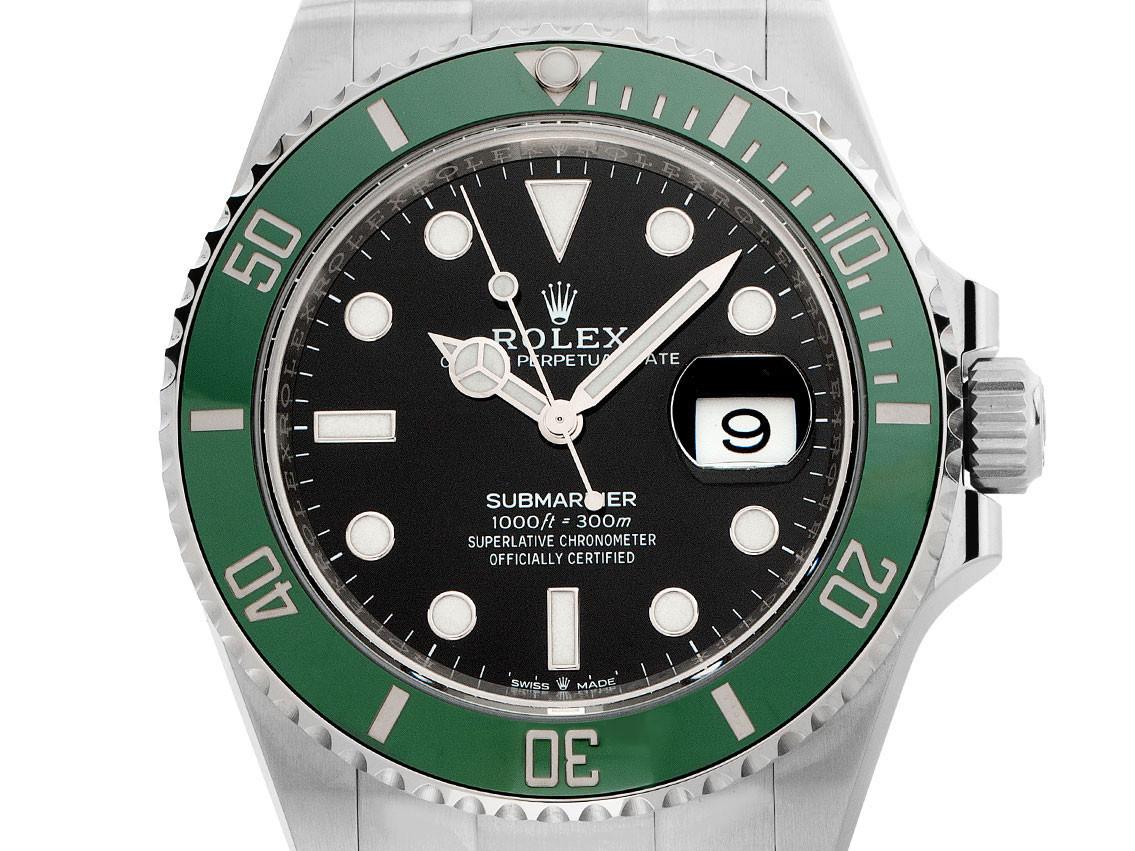 Rolex Neuheit 2020: Rolex Submariner Date mit grüner Lünette