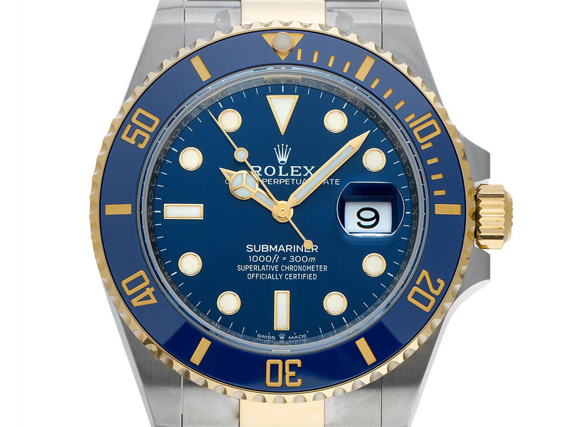 Sommeruhr: Rolex Submariner Date