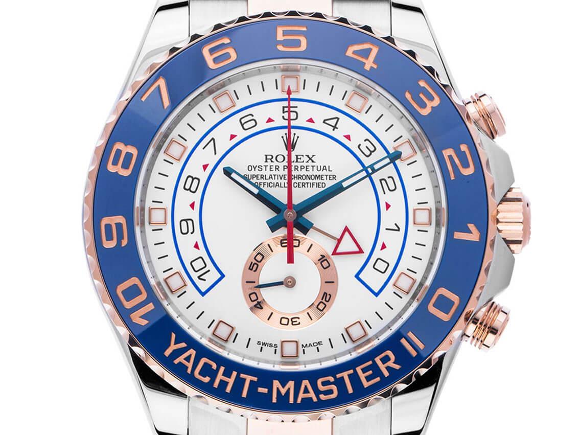 Sommeruhr: Rolex Yacht-Master II