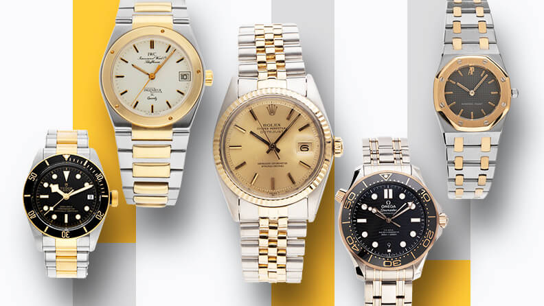 Bicolor Uhren