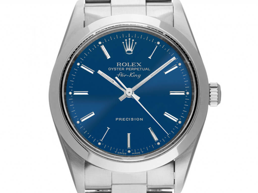 Sommeruhr: Rolex Oyster Perpetual Air King 34mm