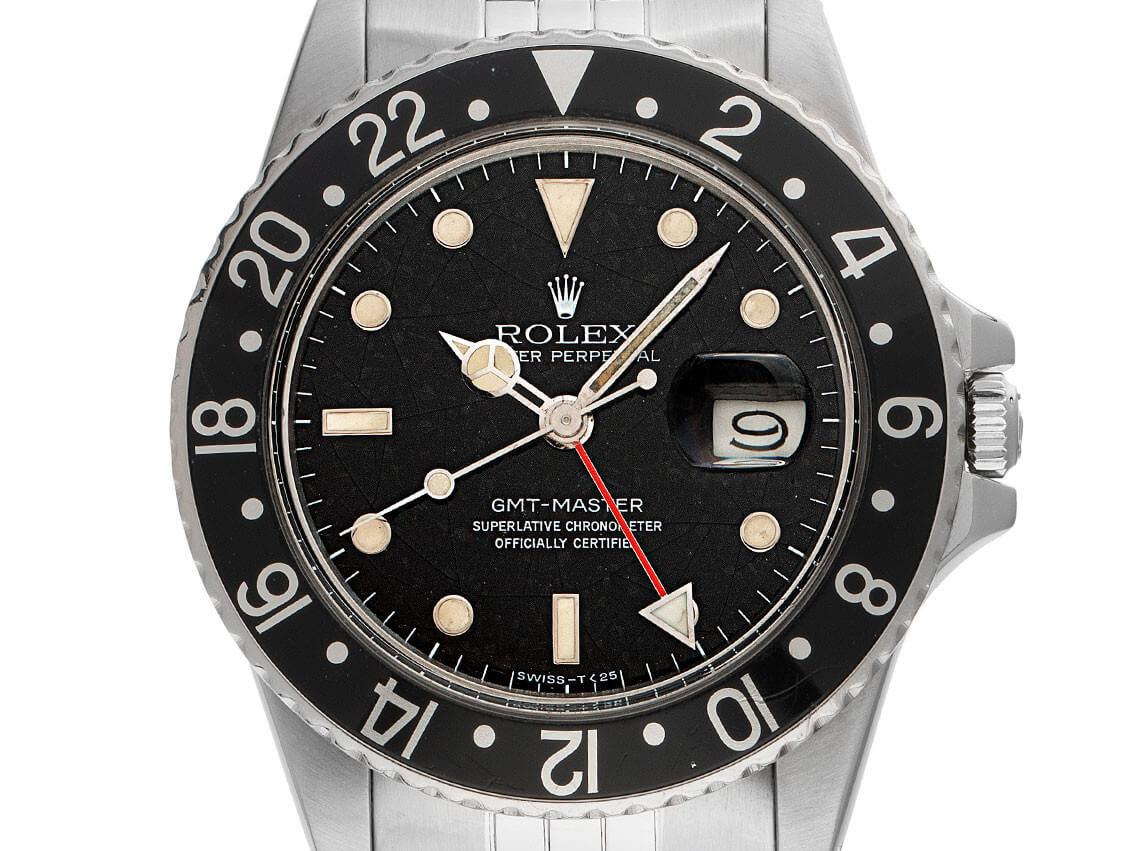"""Rolex GMT-Master """"Spider"""" Ref. 16750, Vintage Bj. 1984"""