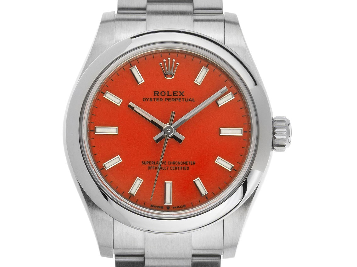 Rolex Oyster Perpetual, Korallenrot