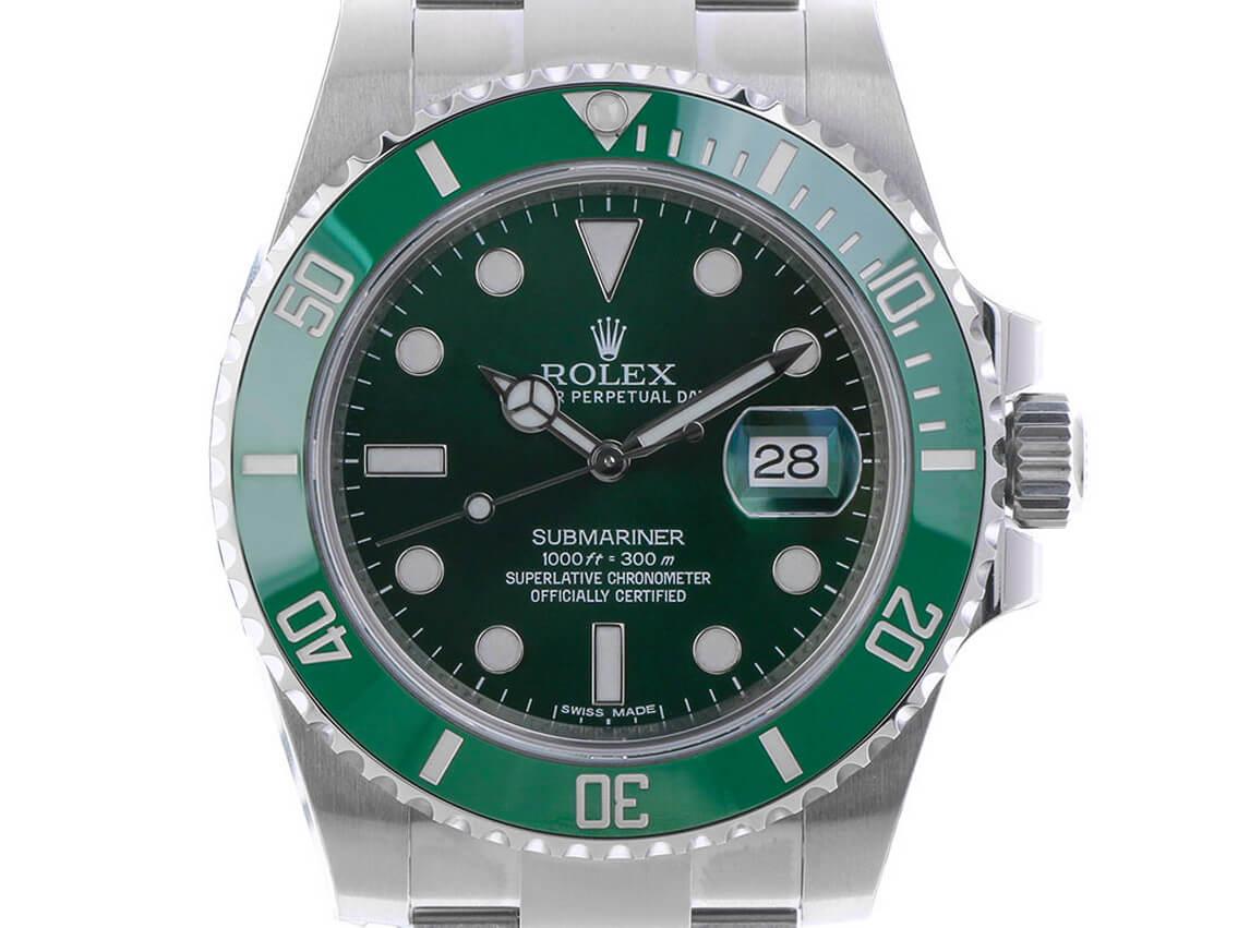 Rolex Submariner Date LV Verde Hulk