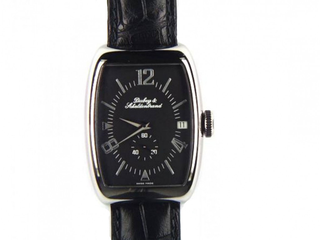 Dubey & Schaldenbrand Aerodyn Elegance Armband Leder 44x33mm N E U