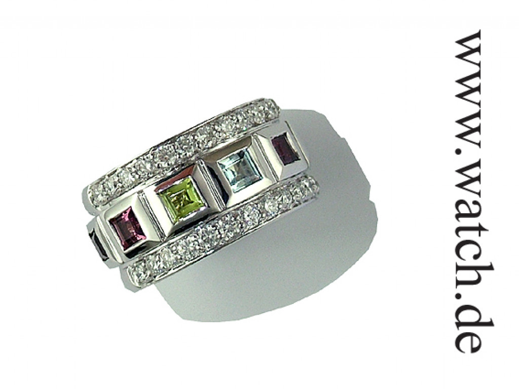 Shrenuj Ring Weißgold Diamond 1,12ct UVP 4120.- N E U