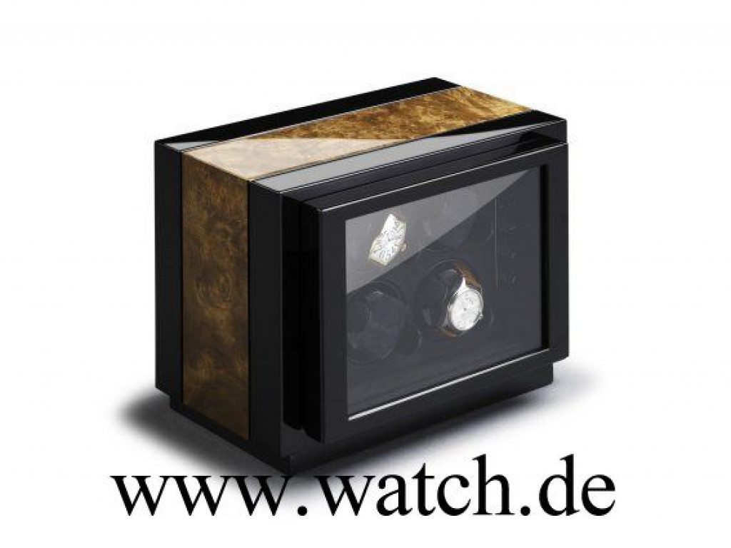 Buben & Zörweg Uhrenbeweger Meisterstück Vantage 4 Nussbaum Neu