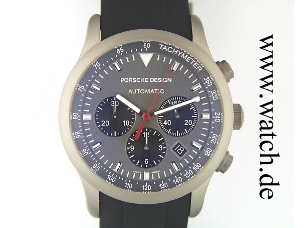 Porsche Design Automatic Chronograph Titan 42mm UVP 3500.- UNGETRAGEN
