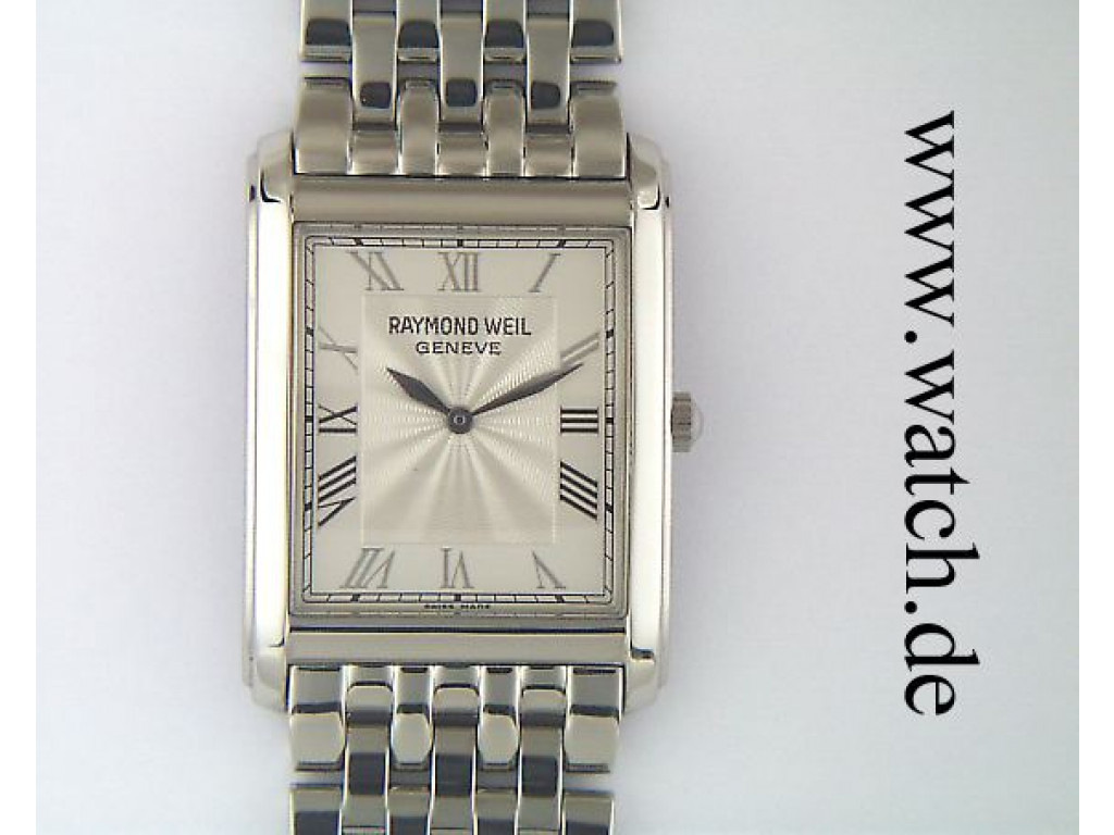 Raymond Weil Don Giovanni 38x28mm UVP 880.- N E U