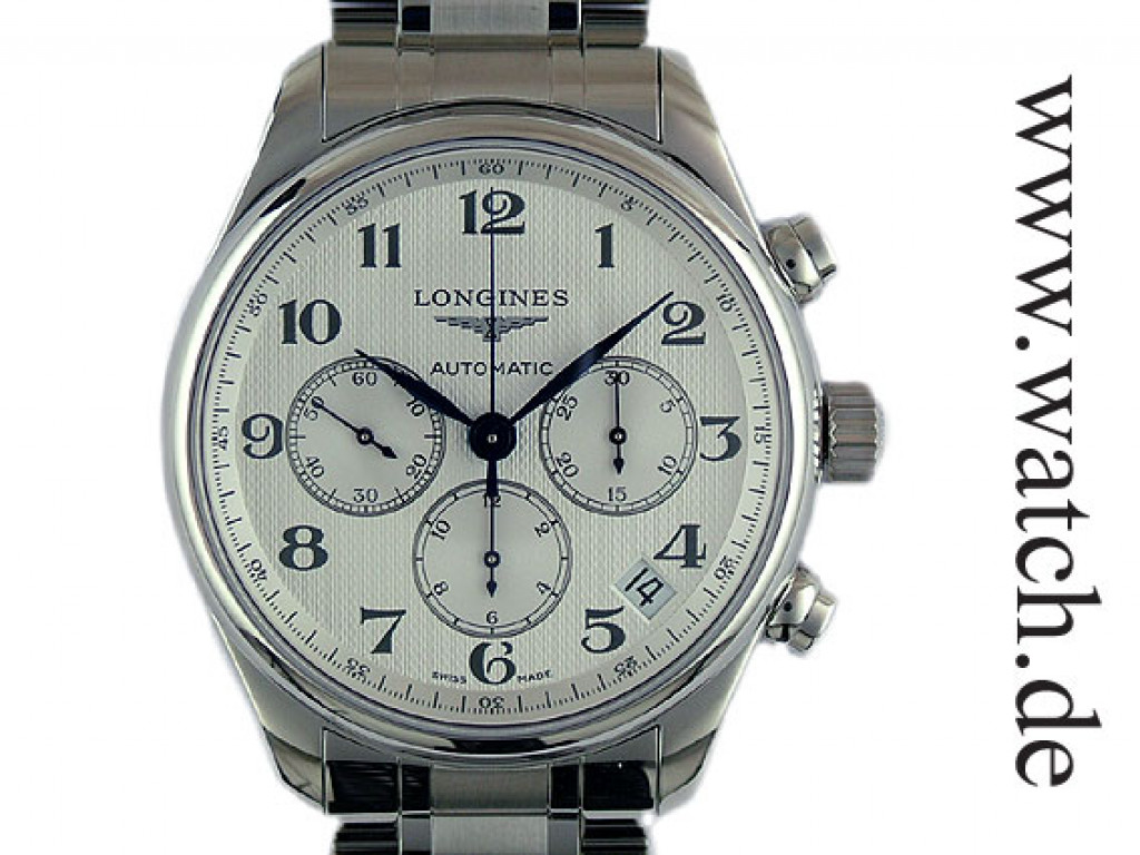 Longines Master Collection Stahl Automatik Chronograph 44mm UVP 2.500,- Ungetragen