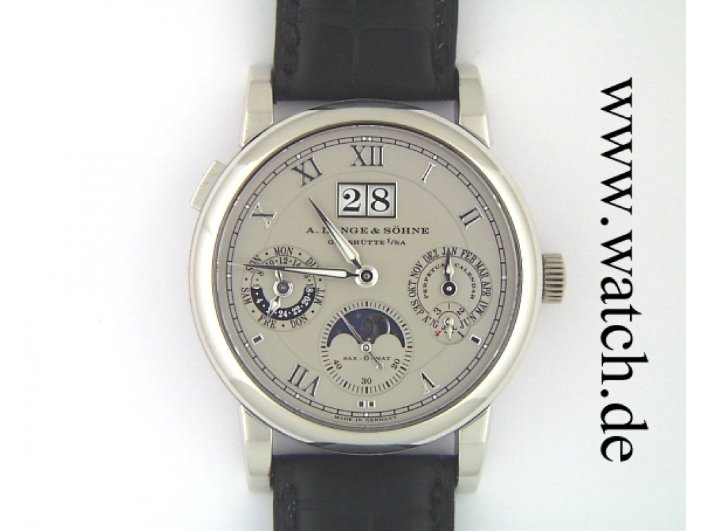 A. Lange & Söhne Langematic Perpetual 950 Platin 38mm