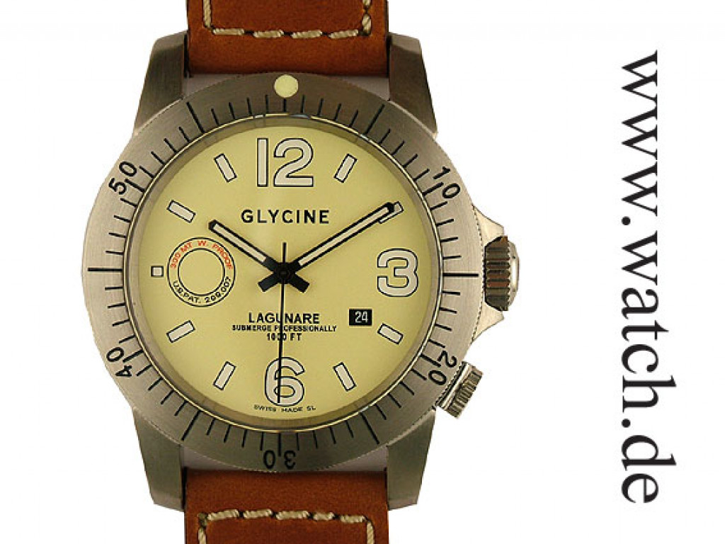 Glycine Lagunare Automatik 46mm Neu