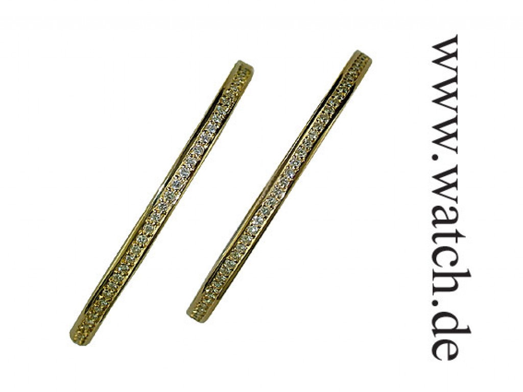 Creolen Gelbgold Diamond 0,80 ct. UVP 3366,- N E U