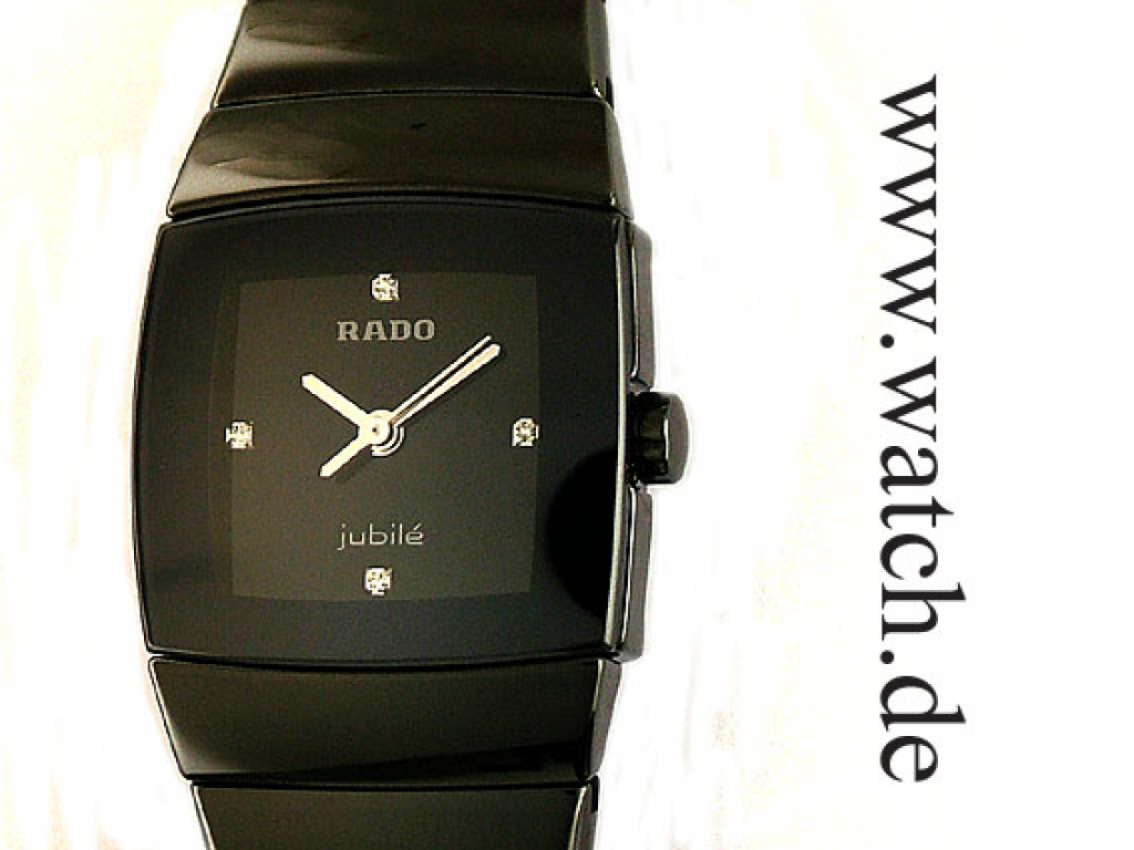 Rado Sintra Jubilé Hightech Keramik Diamond 29x22mm UVP 2.045,- Ungetragen