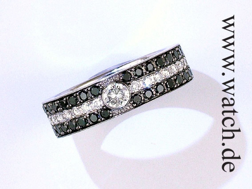 Ring Weißgold Diamond UVP 3880.- N E U