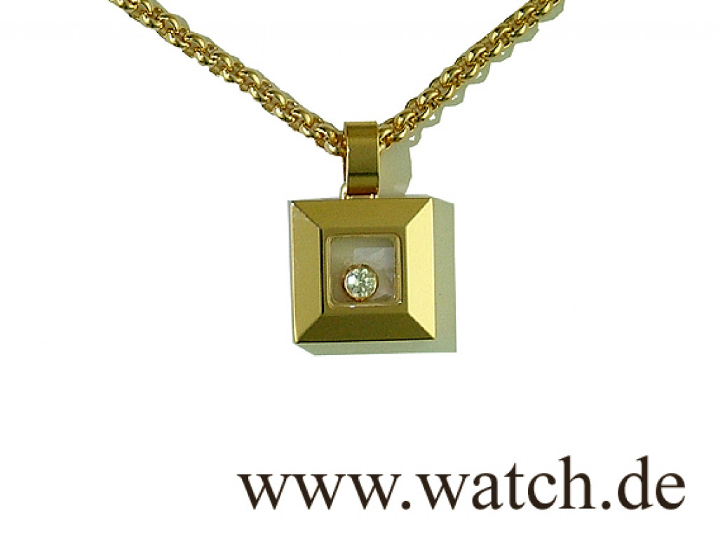 Chopard Collier Happy Diamond 0,06ct UVP 1390.- UNGETRAGEN