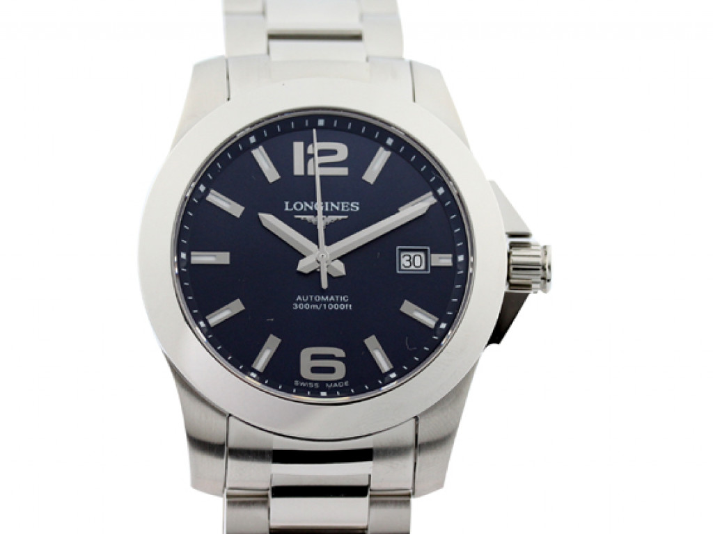 Longines Conquest Automatic 41mm UVP 1.010,- Ungetragen