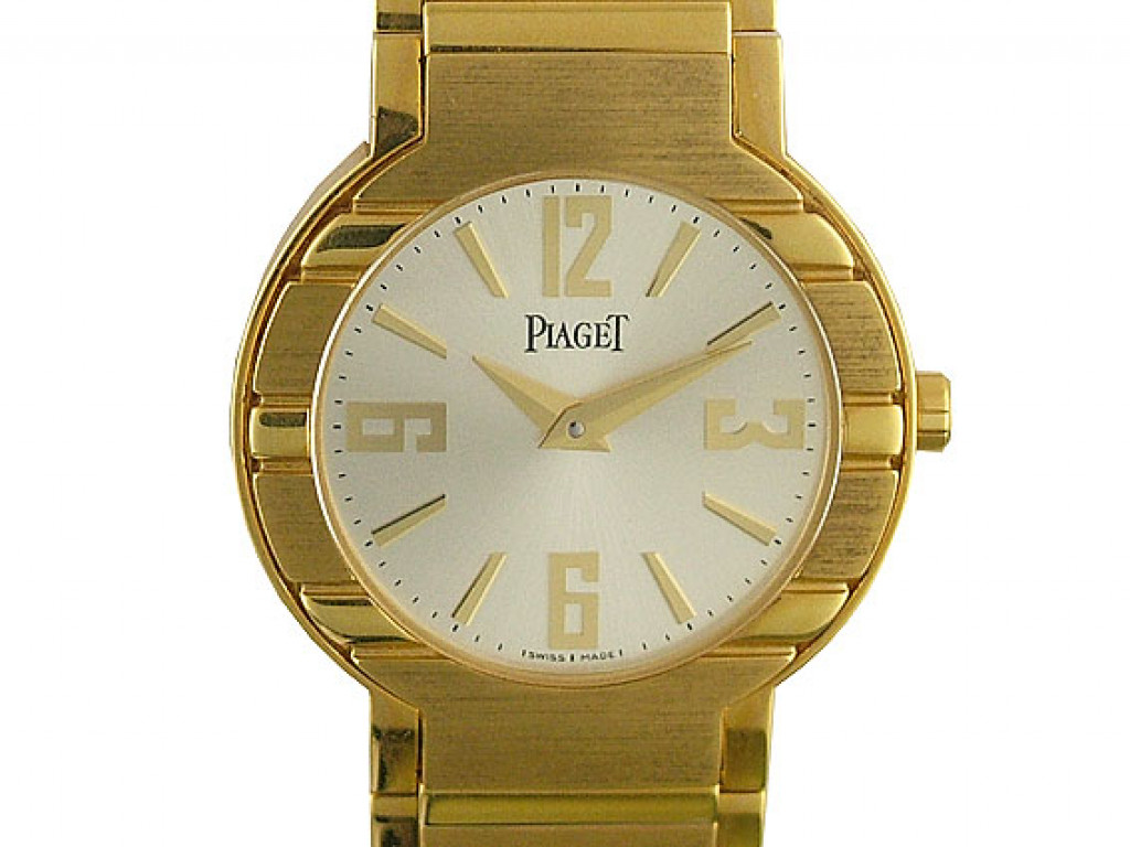 Piaget Polo 18kt Gelbgold 28mm Ungetragen