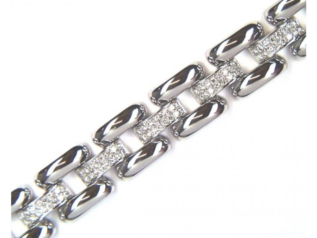 Armband Weißgold Diamond 2,4ct UVP 14900.- N E U