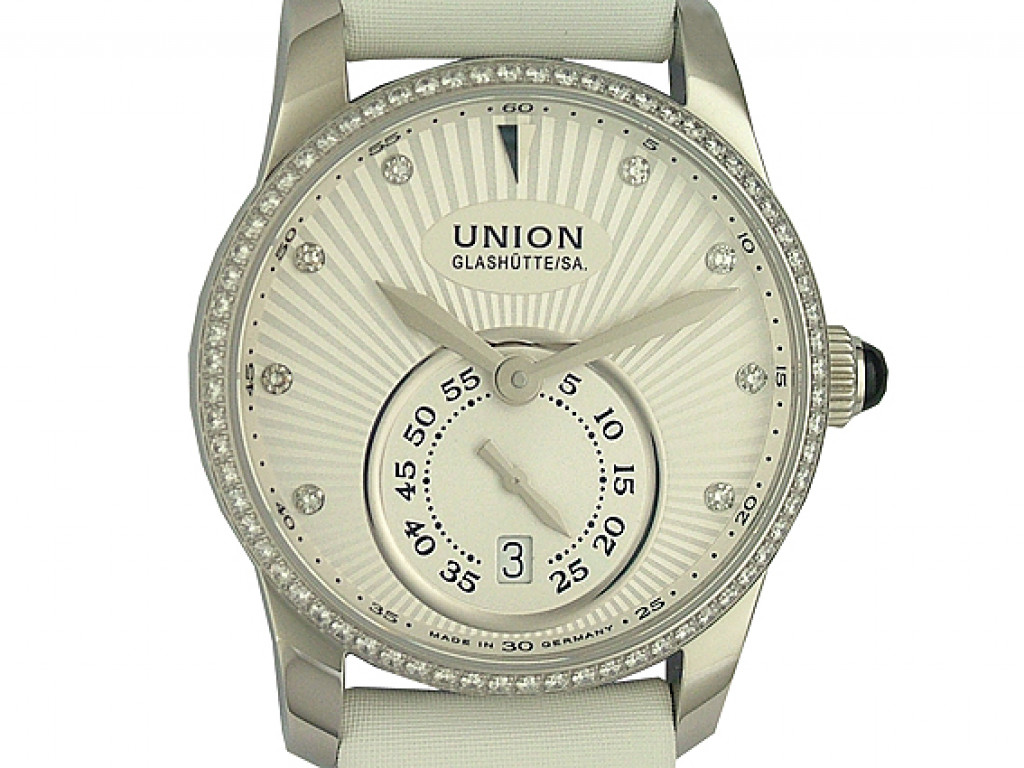 Union Glashütte Seris Stahl Diamond Automatik 36 mm UVP 3.370,- Ungetragen