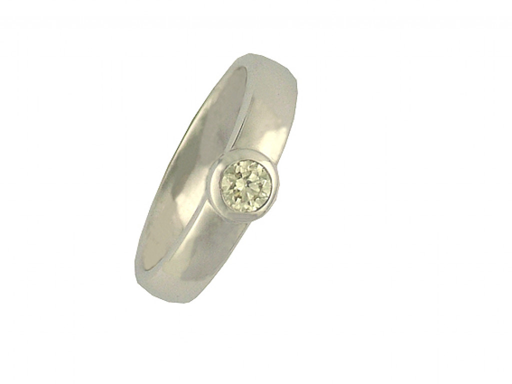 Ring Weißgold Diamond 0,33ct Größe 55 UVP 1230.- N  E U