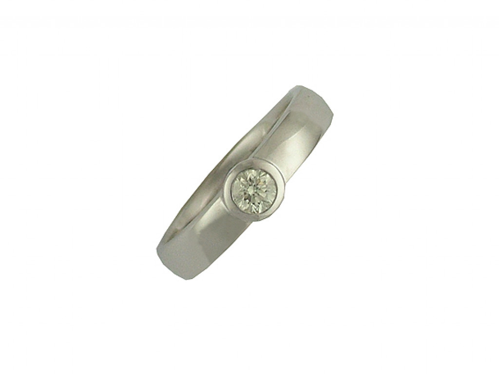 Ring Weißgold Diamond 0,30ct UVP 2.390,- Neu