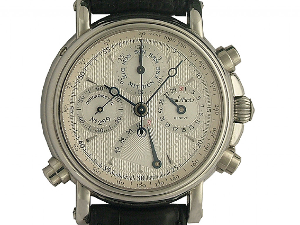 Paul Picot Technicum Schleppzeiger Chronograph 40mm Neu