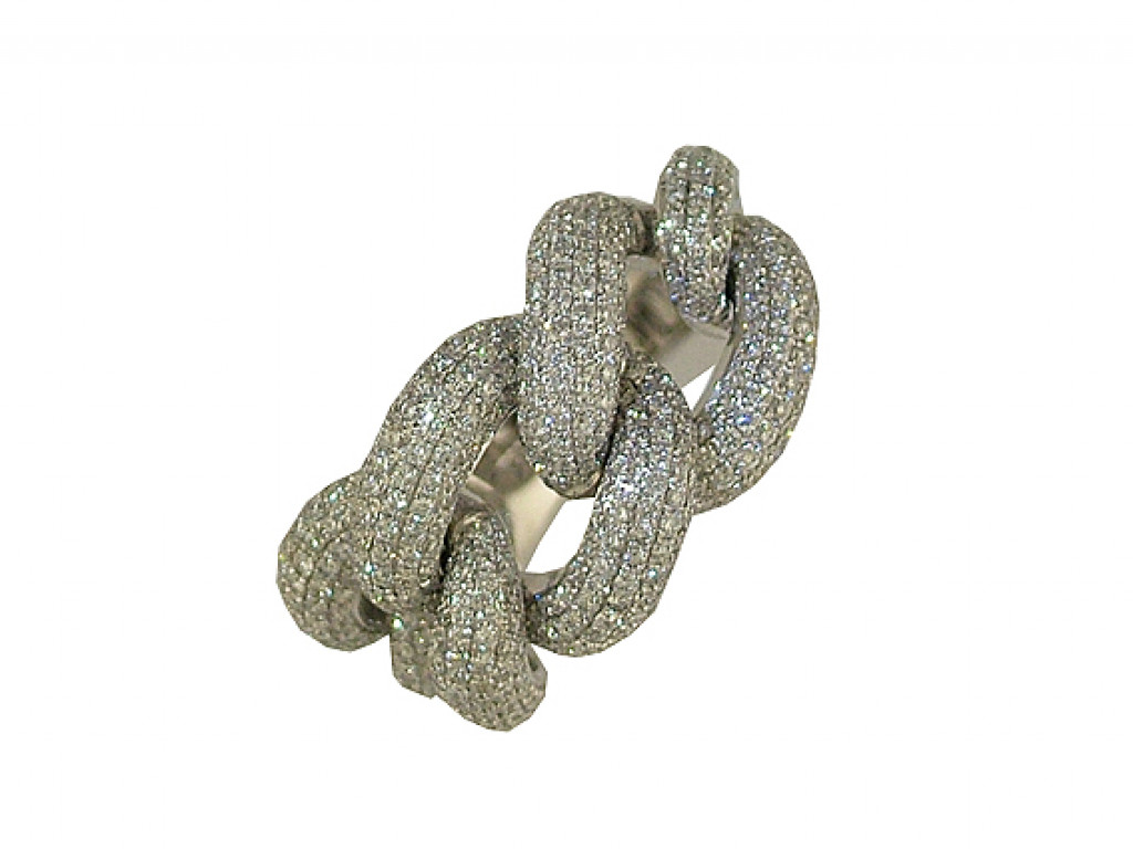 Ring Weißgold Diamond UVP 6699.- N E U