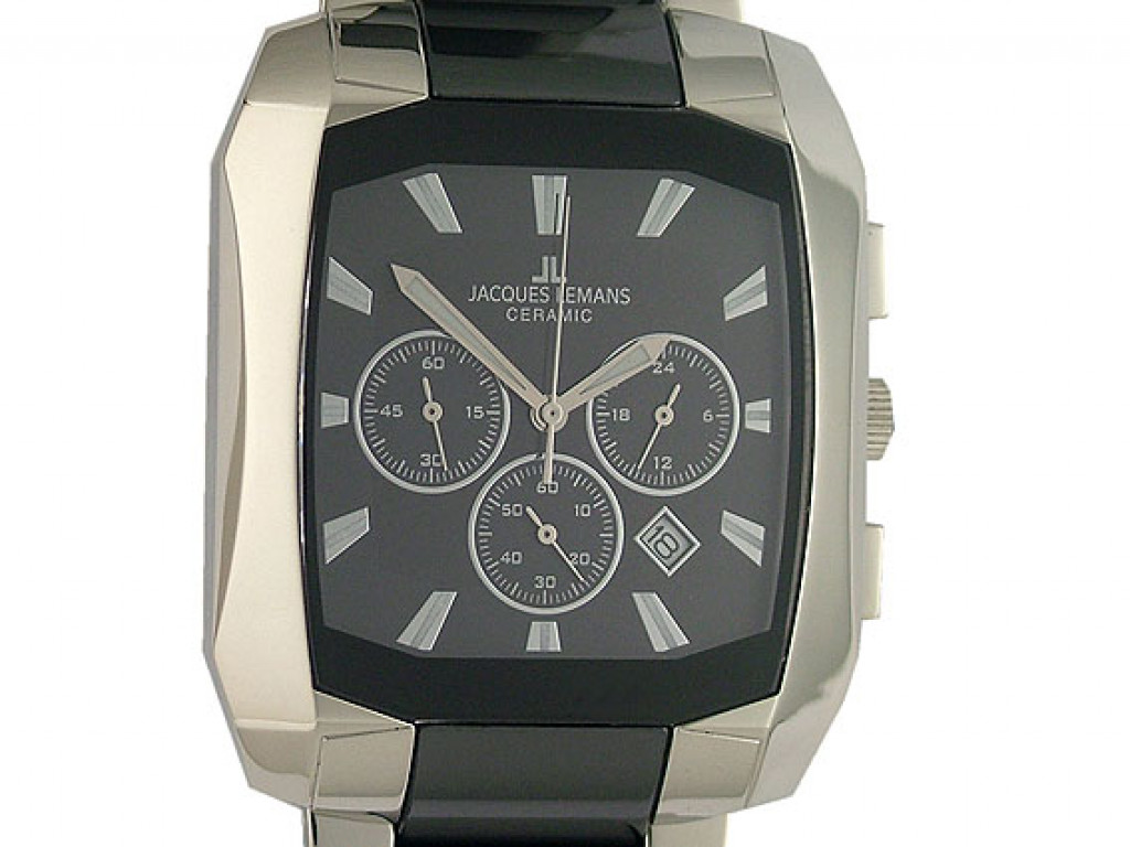 Jacques Lemans Ceramic Chronograph 46x38mm UVP 399.- N E U