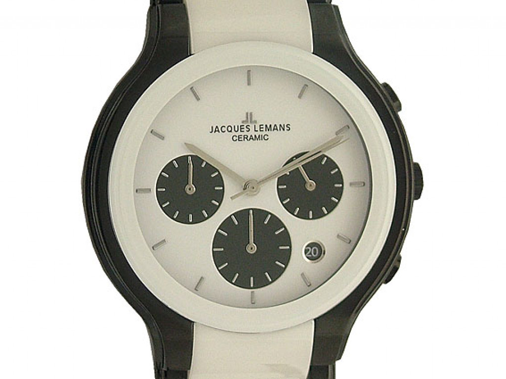 Jacques Lemans Ceramic Chronograph 41mm UVP 349.- N E U
