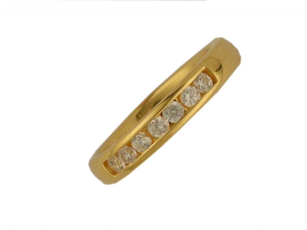 Peter Heim Ring Memoire Gelbgold Diamond 0,42ct UVP 2680.- N E U