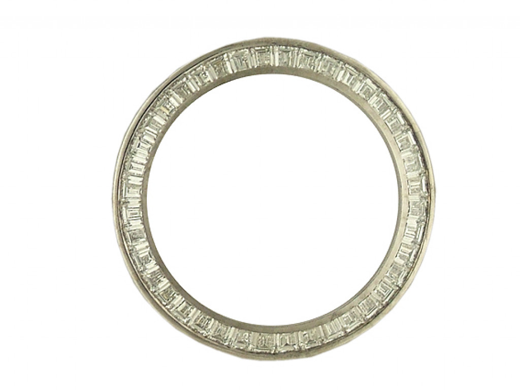 Zubehör - Lünette Weißgold Diamond 3,0ct 26mm UVP 16.595,- Neu