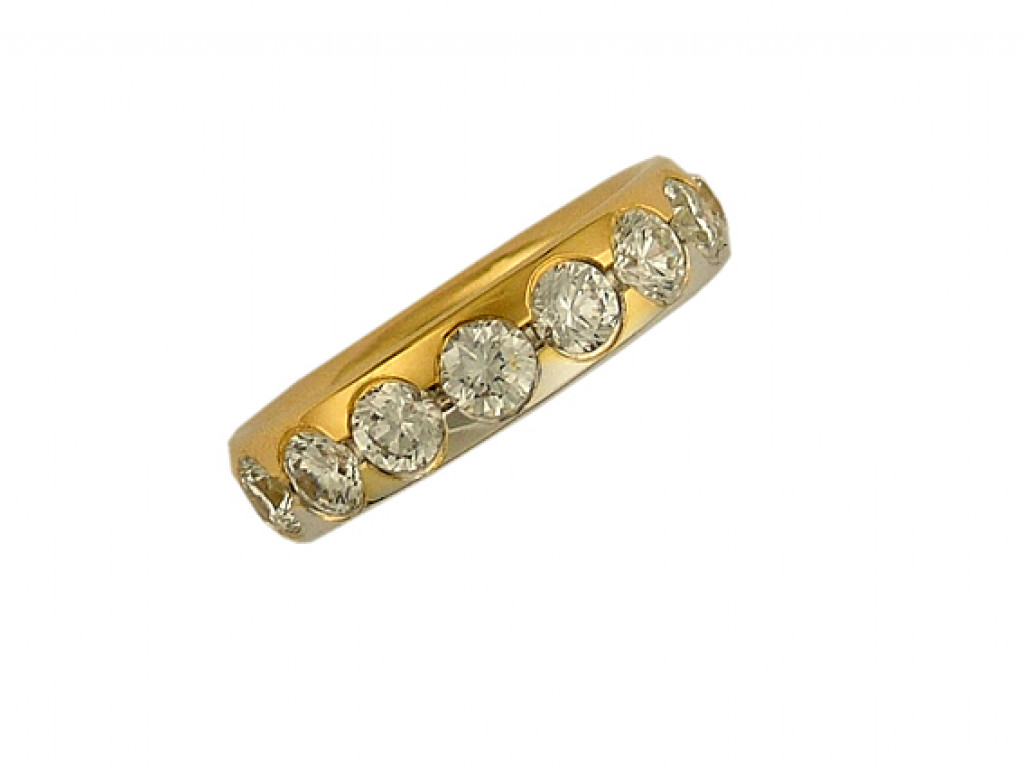 Peter Heim Ring Memoire Gelbgold/Weißgold Diamond 1,8ct UVP 12930.- N E U