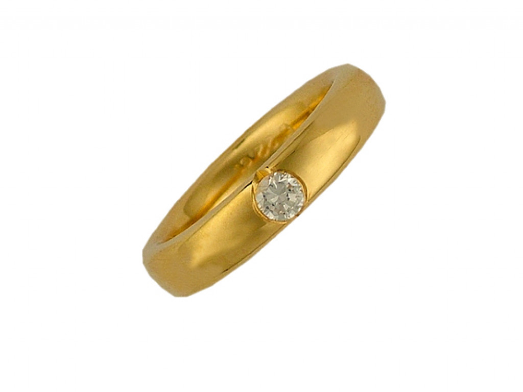 Peter Heim Ring Memoire Gelbgold Diamond 0,22ct UVP 3080.- N E U
