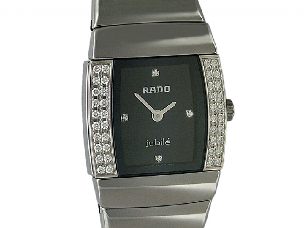 Rado Sintra Superjubilé Lady Mini Ceramic Diamond 28x21mm UVP 3.350,- Ungetragen