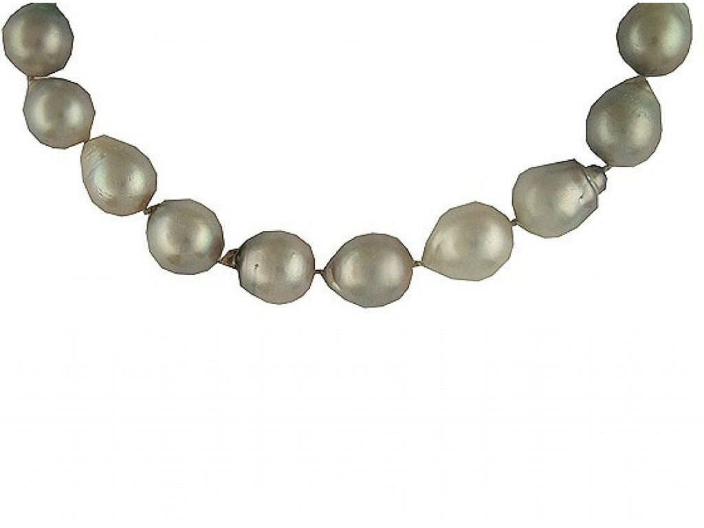 Collier Südsee Perlen 10 bis 15mm Weißgold UVP 9.970,-€ Neu