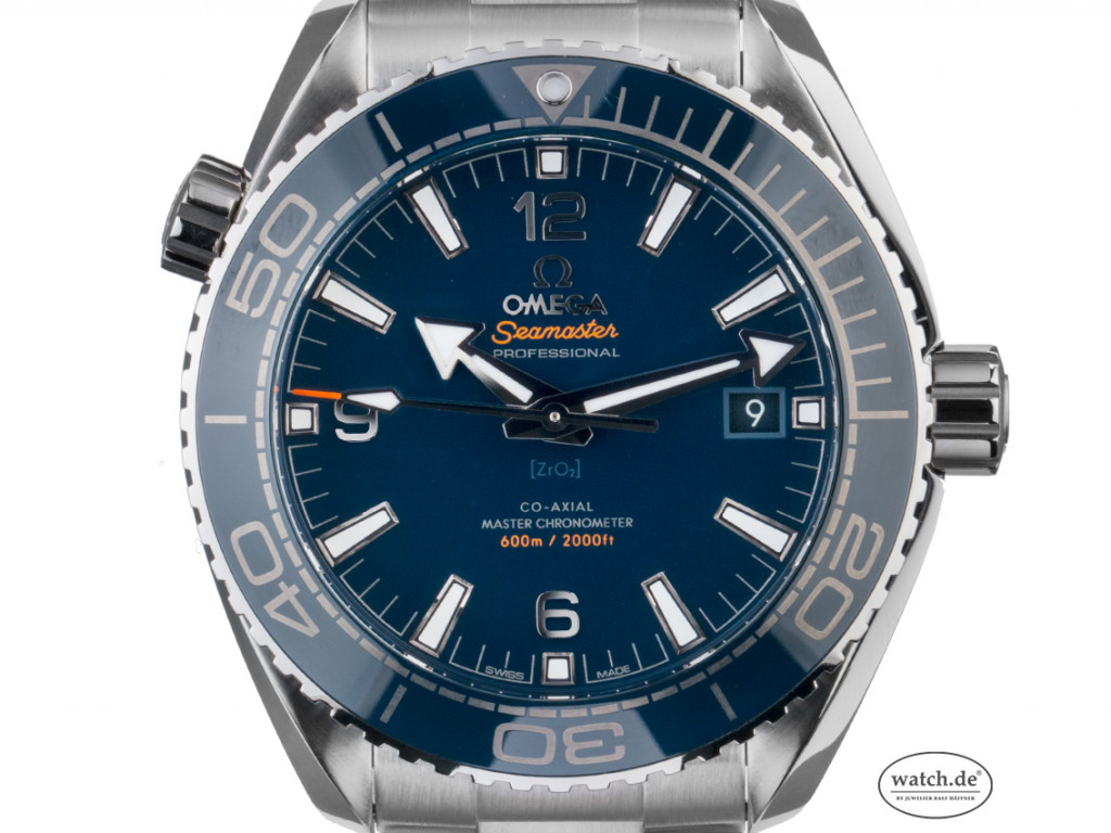 Omega Seamaster Planet Ocean 600 M Co-Axial Master Chronometer Stahl Automatik 44mm Box&Pap. Full Set Ungetragen mit Zertifikat über 6.100,-€