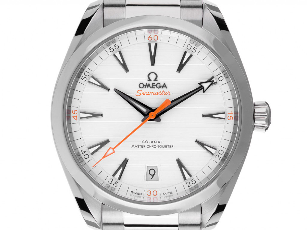 Omega Seamaster Aqua Terra Co-Axial Stahl Automatik Master Chronometer Armband Stahl 41mm Box&Pap. Full Set Ungetragen mit Zertifikat über 5.600,-€