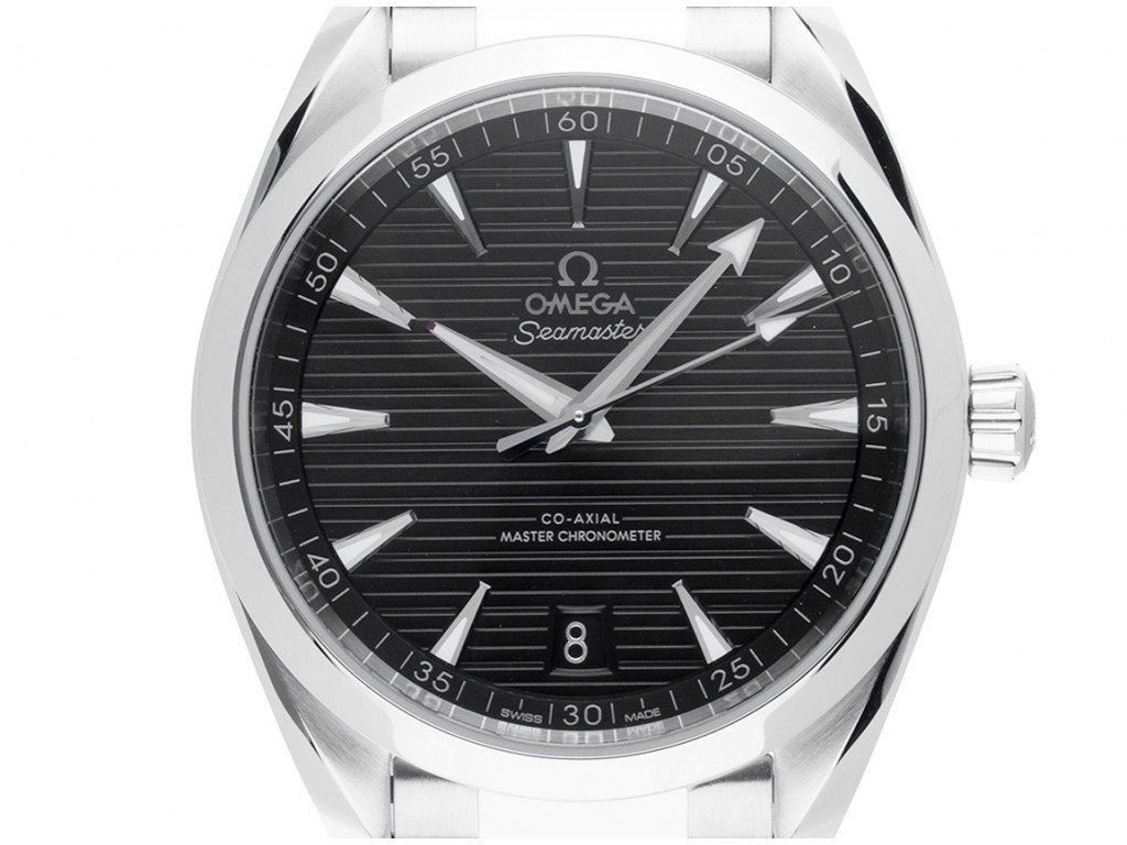 Omega Seamaster Aqua Terra Co-Axial Stahl Automatik Master Chronometer Armband Stahl 41mm Box&Pap. Full Set Ungetragen mit Zertifikat über 5.600,-€
