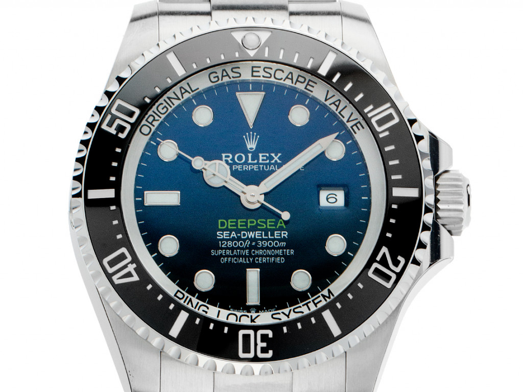 Rolex Deepsea Stahl Automatik Armband Oyster 44mm Ref.126660 Bj.2020 Box&Pap. Full Set Ungetragen