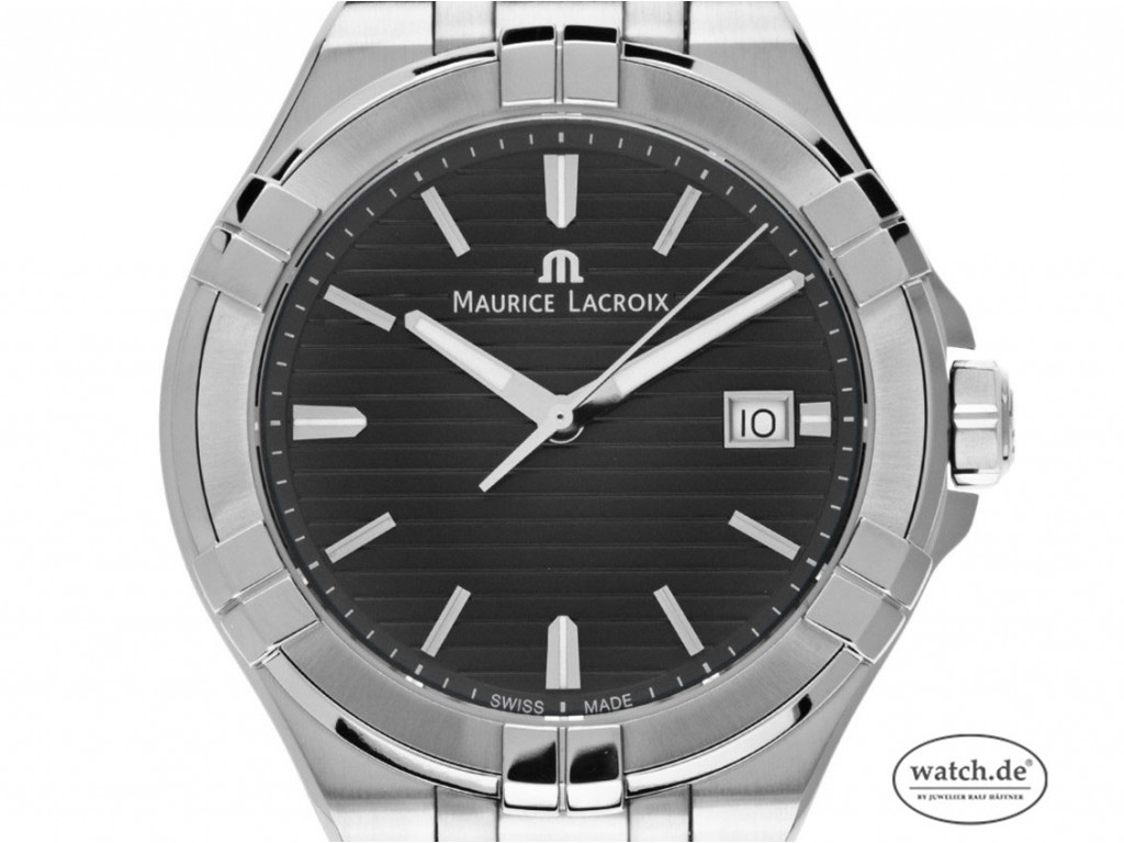 Maurice Lacroix Aikon Gents Stahl Quarz Armband Stahl 42mm Ref.AI1008 Box&Pap. Full Set Neu UVP 895,-€
