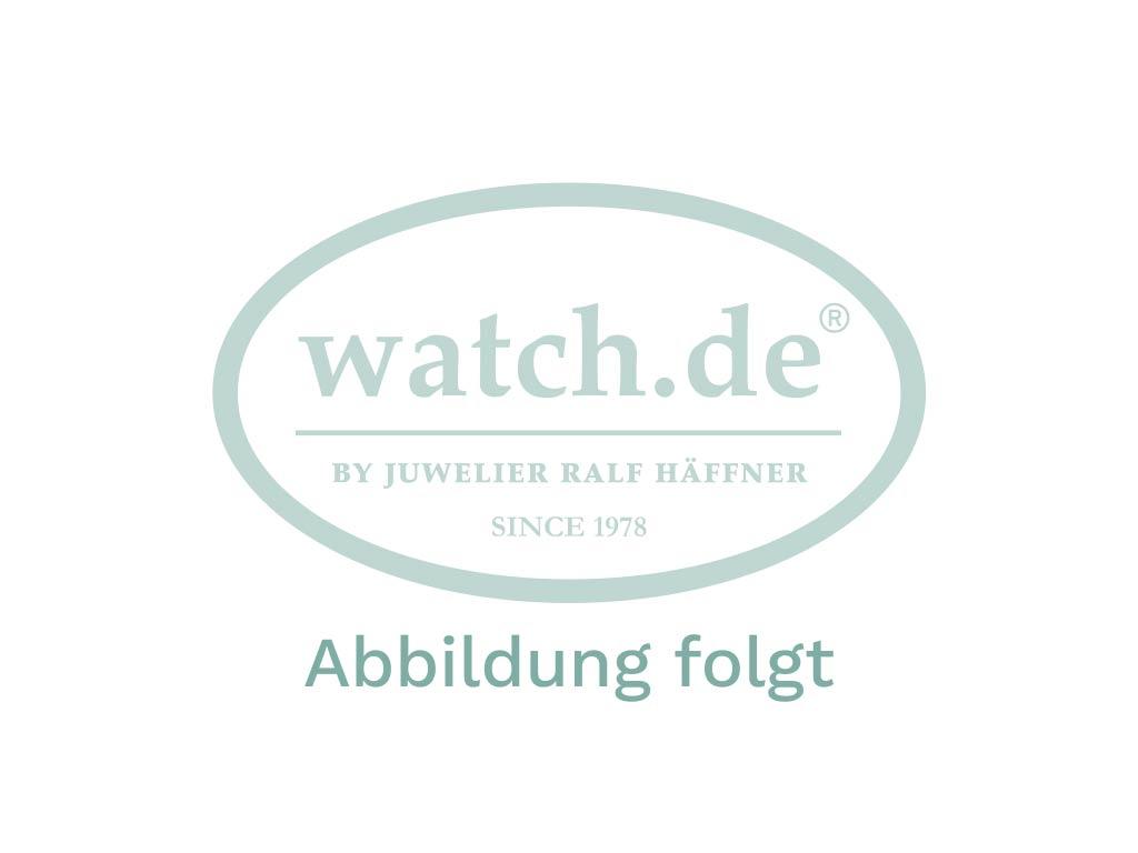 Mühle Glashütte Teutonia II Edition schwarze Teutonia Stahl Automatik Chronometer Armband Leder Faltschließe Limitiert 39mm Vintage Bj.2006 Box&Pap. Full Set wie Neu mit Zertifikat über 2.300,-€