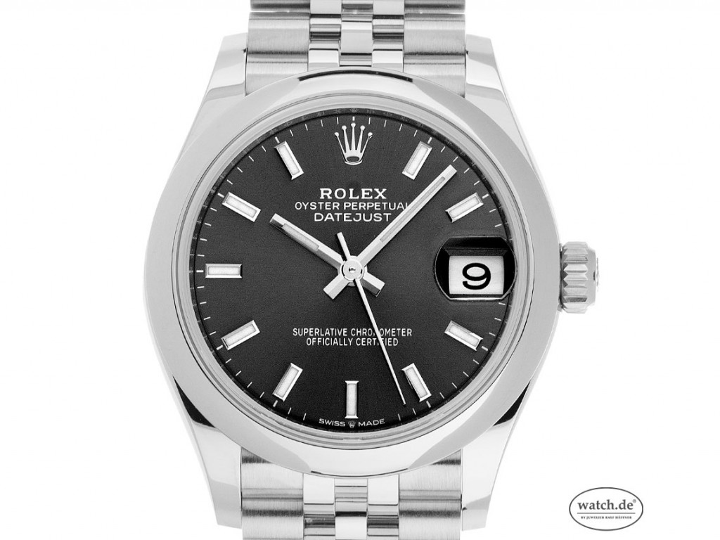 Rolex Datejust Medium Stahl Weißgold Automatik Armband Jubilé 31mm Ref.278240 Box&Pap. LC EU Full Set Ungetragen Neuheit