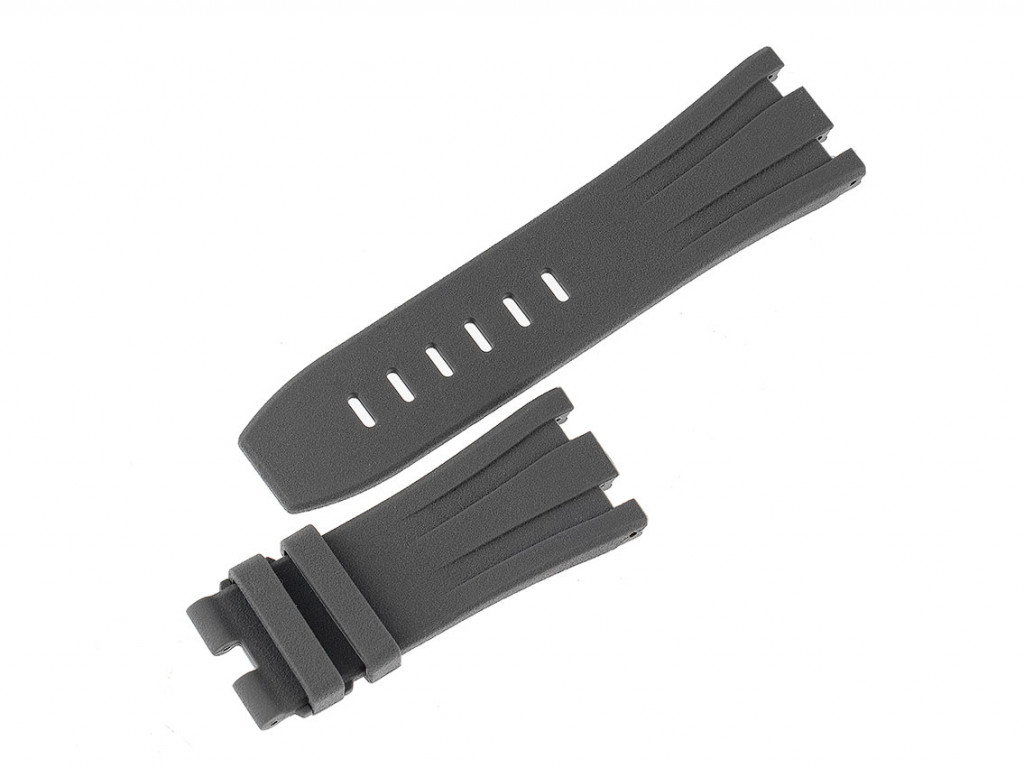 Tempomat Zubehör Armband Kautschuk Grau 44mm Neu mit Zertifikat über 80,-€