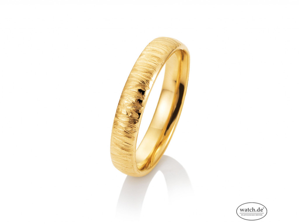 Saint Maurice Trauring Ehering Verlobungsring Freundschaftsring 14kt Gelbgold UVP 629,- € Neu