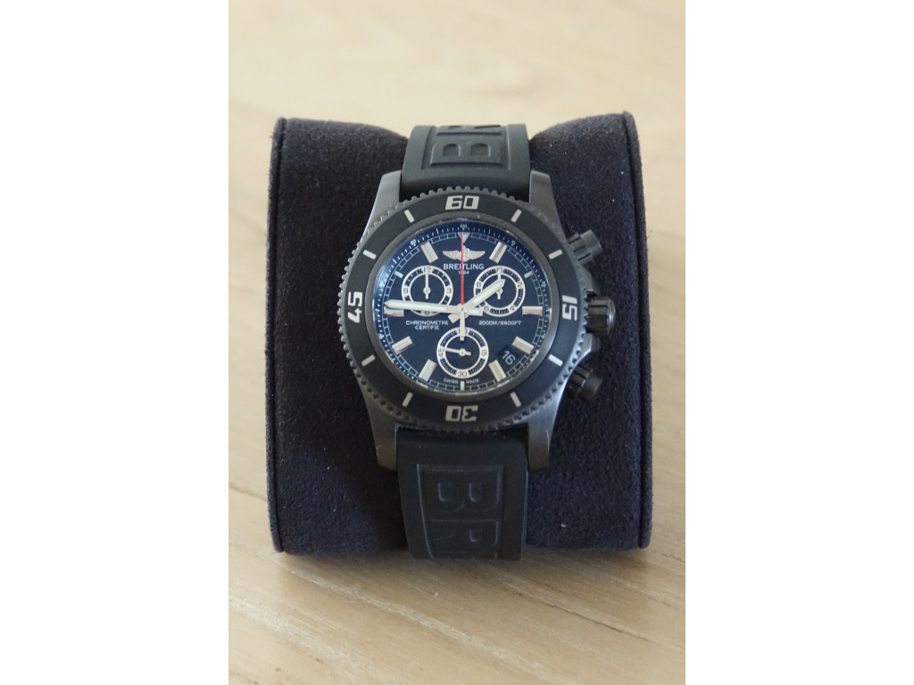 Breitling Superocean M2000 limited Edition Blacksteell