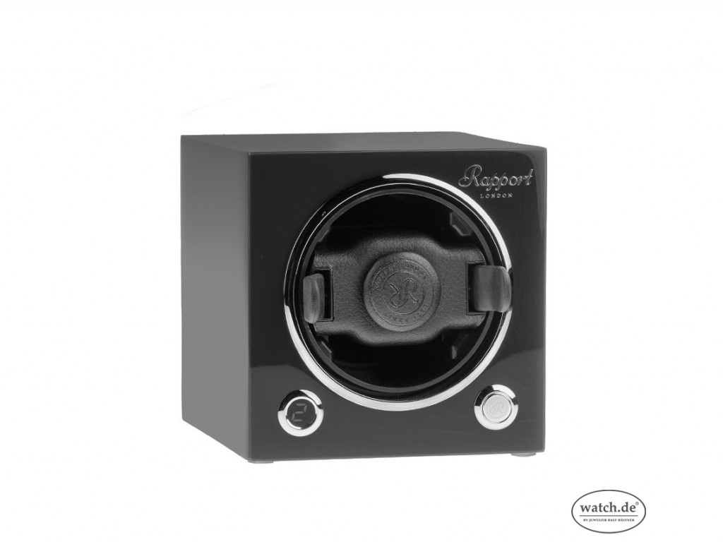 Rapport Evocube MKII Single Watch Winder Schwrz stapelbar 120x120x130mm Neu mit Zertifikat über 350,-€