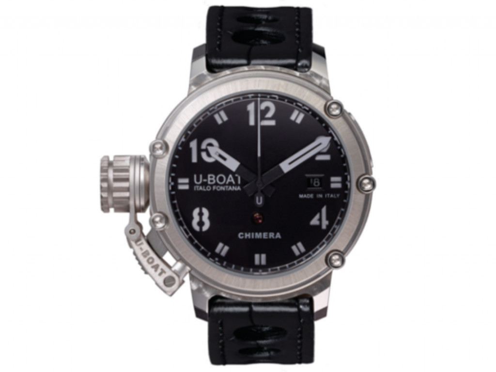 U-Boat Italo Fontana Chimera 925 Silber Automatik Limitiert 43mm UVP 7.150,- Neu